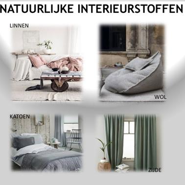 Natuurlijke interieurstoffen