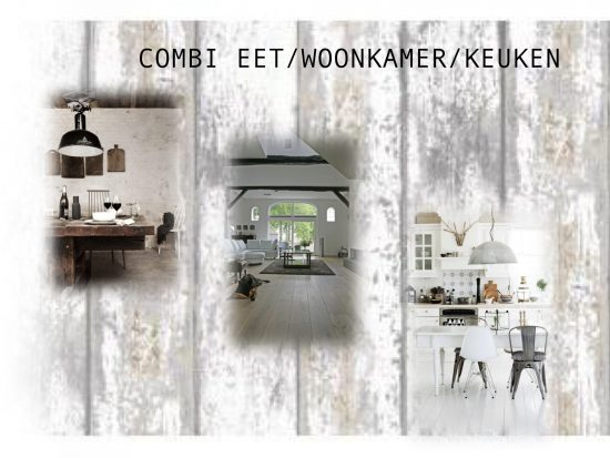 COMBI EET- WOONKAMER & KEUKEN